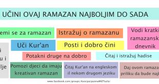 ucini ovaj ramazan boljim